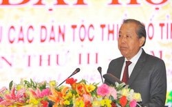 Phó Thủ tướng Trương Hòa Bình dự Đại hội đại biểu các dân tộc thiểu số tại Gia Lai