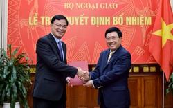 Ông Phạm Quang Hiệu được bổ nhiệm làm Trợ lý Bộ trưởng Bộ Ngoại giao Phạm Bình Minh