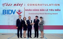 BIDV nhận cú đúp Giải thưởng Ngân hàng Việt Nam tiêu biểu