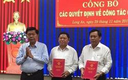 Điều chỉnh nhân sự tại Long An, Bình Phước và Lạng Sơn