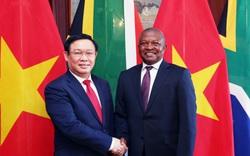 Phó Thủ tướng Vương Đình Huệ đề nghị cho phép mở chi nhánh ngân hàng thương mại Việt Nam tại Nam Phi