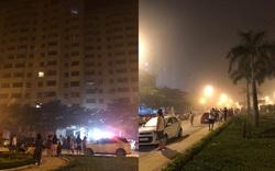 Nghệ An: Cháy chung cư lúc rạng sáng hàng trăm người tháo chạy, một cảnh sát bị ngạt khói
