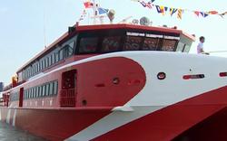 Tàu cao tốc Cần Thơ - Côn Đảo lùi ngày khai trương vì thời tiết xấu