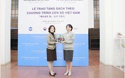 Thư viện Quốc gia Việt Nam tiếp nhận gần 100 đầu sách từ chương trình