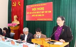 Tiếp xúc cử tri Sơn La, Phó Chủ tịch thường trực Quốc hội yêu cầu địa phương chăm lo cho đời sống nhân dân dịp Tết nguyên đán