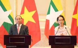 Cố vấn Nhà nước Myanmar ấn tượng với những thành tựu phát triển kinh tế Việt Nam