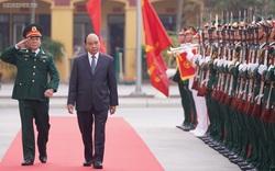 Thủ tướng làm việc với Bộ Tư lệnh Binh chủng Tăng thiết giáp