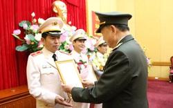 Bộ trưởng Tô Lâm trao quyết định phong hàm Thiếu tướng cho Giám đốc Công an Hải Phòng