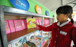 Bảo hiểm PTI trao tặng Thư viện xanh cho Trường Tiểu học Kỳ Lâm, Hà Tĩnh