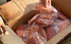 Phát hiện, thu giữ lượng lớn thịt cấp đông đang trên đường tuồn vào Thủ đô tiêu thụ