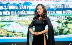 Vũ Thảo Giang nhận hai giải thưởng cuộc thi về du lịch Cao Bằng