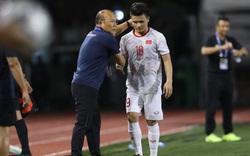 Quang Hải bị rách cơ đùi, bỏ ngỏ khả năng chơi trận gặp Thái Lan