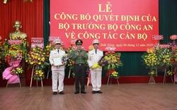Bộ trưởng Bộ Công an bổ nhiệm Giám đốc Công an tỉnh Đắk Lắk và Đắk Nông