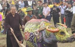 Phó Thủ tướng Thường trực Trương Hòa Bìnhthực hiện nghi thức xuống đồng
