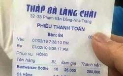 Nha Trang: Xử phạt đối với chủ nhà hàng Tháp Bà Làng Chài