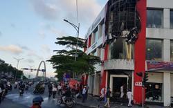 Cháy tại cửa hàng xe máy Honda ở Đà Nẵng
