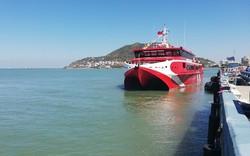 Khai trương tàu hai thân cao tốc Vũng Tàu - Côn Đảo lớn nhất Việt Nam