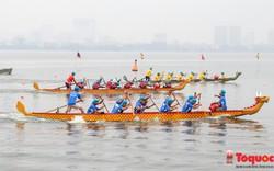 Khai mạc lễ hội Bơi chải thuyền rồng Hà Nội mở rộng năm 2019: Hơn 700 VĐV, 43 đội tham gia tranh tài