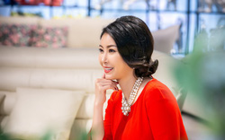 Hoa hậu Hà Kiều Anh xuất hiện rạng rỡ hội ngộ các chân dài đình đám