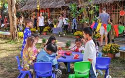Các em học sinh nước ngoài hiểu hơn văn hóa Việt qua Lễ hội Tết Kỷ Hợi