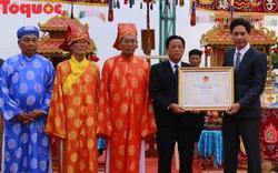 Trao Bằng chứng nhận Lễ hội Cầu ngư tại Đà Nẵng vào Danh mục di sản văn hóa phi vật thể quốc gia