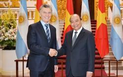 Thủ tướng Nguyễn Xuân Phúc hội kiến với Tổng thống nước Cộng hòa Argentina