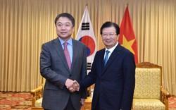 Phó Thủ tướng Trịnh Đình Dũng tiếp Phó Chủ tịch Tập đoàn Hyundai