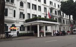 Các tuyến đường xung quanh khách sạn Metropole đã trở lại bình thường sau khi Hà Nội đón Chủ tịch Kim Jong-un