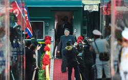 Toàn cảnh lễ đón Chủ tịch Triều Tiên Kim Jong-un tại ga Đồng Đăng