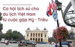 Cơ hội vàng cho du lịch Việt Nam từ cuộc gặp Mỹ - Triều