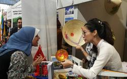 Gian trưng bày Việt Nam tại Lễ hội văn hóa quốc tế Sakia gây ấn tượng với bạn bè quốc tế