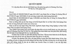 Không có chuyện Quảng Nam ra văn bản phê duyệt đầu tư chuỗi khách sạn 5 sao ở Hội An