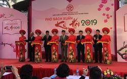 Hà Nội khai mạc Phố Sách Xuân Kỷ Hợi 2019, tôn vinh văn hoá đọc của người Việt