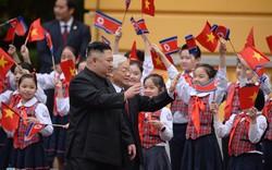Lễ đón chính thức Chủ tịch Triều Tiên Kim Jong-un