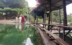 Tháo dỡ các hạng mục xây dựng trái phép tại khu du lịch Thủy Lâm Viên