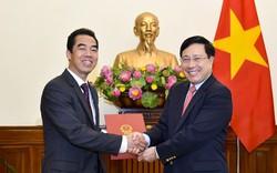 Công bố quyết định bổ nhiệm Thứ trưởng Bộ Ngoại giao