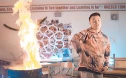 Vụ Rapper Việt đốt sách vở quay MV: Chuyển công an nếu có dấu hiệu vi phạm pháp luật hình sự