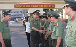 Đại tướng Tô Lâm thăm và làm việc với Công an tỉnh Bạc Liêu