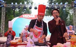 Vua đầu bếp Thanh Cường trổ tài ở