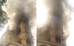 Hà Tĩnh: Cháy lớn ở nhà thờ Công giáo, nhiều tài sản bị thiêu rụi