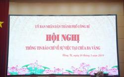 TP Uông Bí tổ chức họp báo thông tin vụ việc