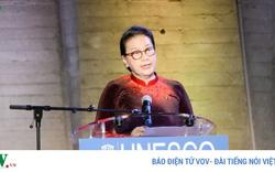 Chủ tịch Quốc hội khai mạc triển lãm về Chủ tịch Hồ Chí Minh tại trụ sở UNESCO