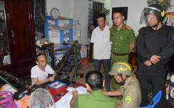 Hơn 100 CBCS tham gia vây bắt, đánh sập
