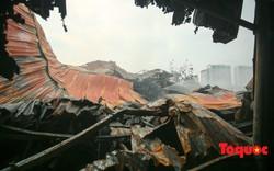 Cận cảnh hiện trường vụ Cháy thảm khốc ở Trung Văn, 8 người chết và mất tích