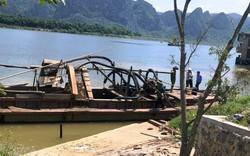 Quảng Bình: Hoảng hốt phát hiện sọ người khi hút cát trên sông