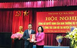 Con trai ông Phạm Quang Nghị làm Phó Bí thư huyện Sóc Sơn