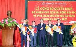 Bộ trưởng Phùng Xuân Nhạ trao Quyết định bổ nhiệm Chủ tịch Hội đồng Đại học và Phó Giám đốc Đại học Đà Nẵng