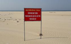 """Thông tin mới về hiện tượng chưa thể lý giải """"đảo cát"""" nổi ở vùng biển Hội An"""