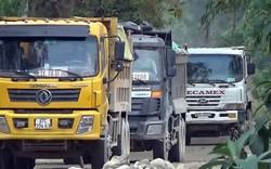 Video: Dàn xe chở đất