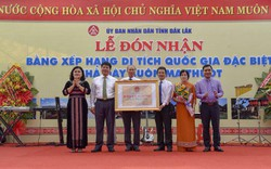 Trao Bằng xếp hạng Di tích quốc gia đặc biệt Nhà đày Buôn Ma Thuột